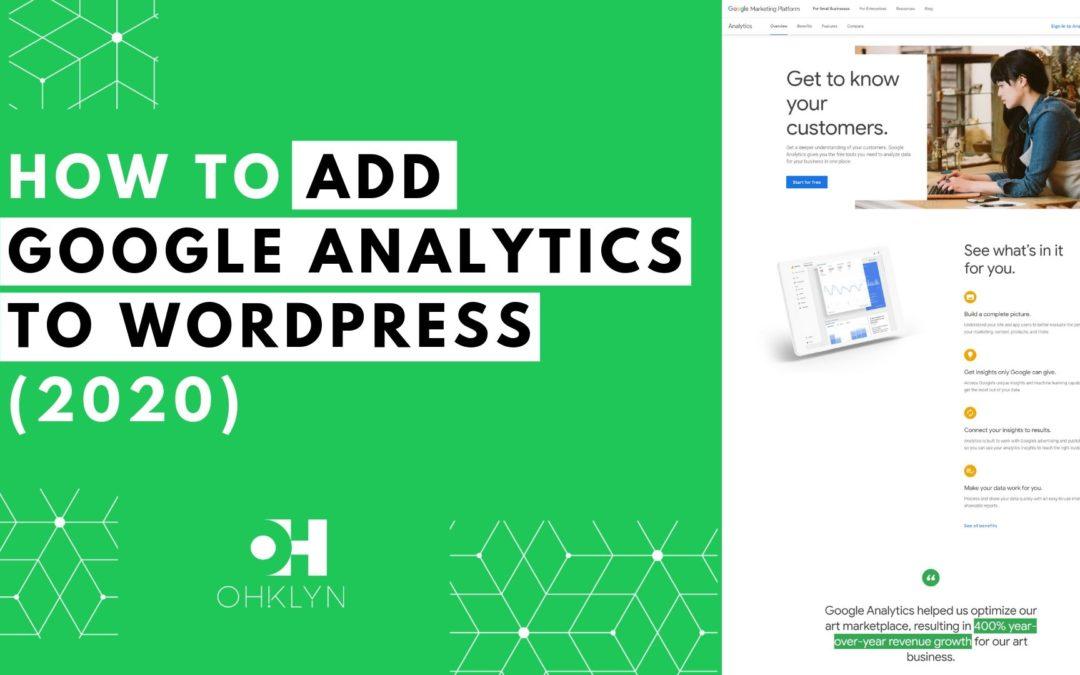 How to Add Google Analytics to WordPress | 3 Easy Options
